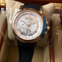 Breguet NEW Marine Chronograph Mens 5827br/12/5zu