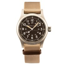 Hamilton 38mm Manual winding new Khaki Field Brown