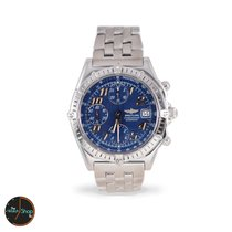 Breitling Chronomat Blue Dial Automatic Stainless Steal A13050.1