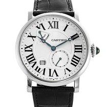 Cartier Rotonde de Cartier brukt 42mm Hvitt gull