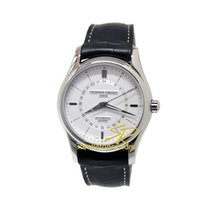 Frederique Constant Classics Automatic Staal 42mm Zilver Geen cijfers