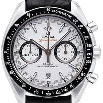 Omega Speedmaster Racing Steel White No numerals
