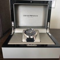 Armani Steel Quartz new