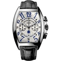 Franck Muller Steel Automatic Silver 60mm pre-owned Mariner