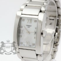 Tissot Generosi-T Steel 24.6mm Mother of pearl Roman numerals