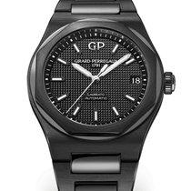 Girard Perregaux Ceramic Automatic Black 42mm new Laureato
