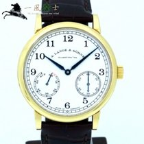A. Lange & Söhne Yellow gold Manual winding Silver 39mm pre-owned 1815