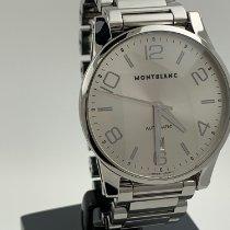 Montblanc Timewalker Acero 42mm Plata Árabes