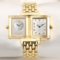 Jaeger-LeCoultre Reverso Duetto pre-owned 21mm Yellow gold