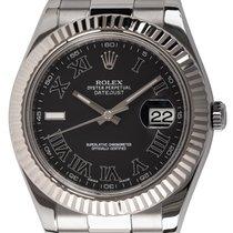 Rolex Datejust II Steel 41mm Black Roman numerals United States of America, Texas, Austin