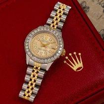 Rolex Lady-Datejust Acier 26mm Champagne Sans chiffres