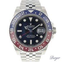 勞力士 GMT-Master II 新的 2019 自動發條 附正版包裝盒和原版文件的手錶 126710BLRO