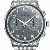 Junghans Meister Driver Steel 40.8mm Grey United States of America, New Jersey, Cherry Hill