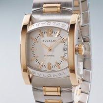 Bulgari Assioma Gold/Steel 34mm Silver