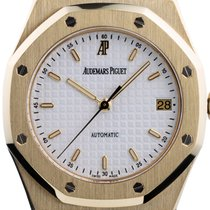 Audemars Piguet Royal Oak pre-owned 36mm White Date Yellow gold