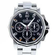 Corum Admiral's Cup Challenger Steel 44mm Black