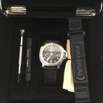 Panerai Luminor Submersible Acero 44mm Negro Arábigos España, Palencia
