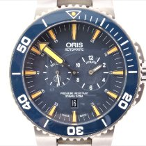 Oris Tubbataha Limited Edition Titanium 45mm Blue No numerals