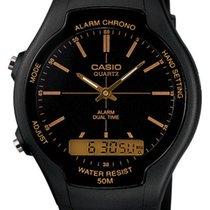 Casio Plastic 45mm Quartz AW-90H-9E new