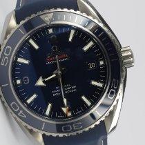 Omega Titan Automatik Blau 45,5mm gebraucht Seamaster Planet Ocean