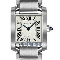 Cartier Tank Française new Quartz Watch with original box