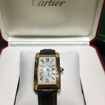 Cartier Tank Américaine W2609156 Very good Rose gold Automatic