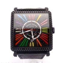 Franck Muller King Master Square Color Dreams 6000 18K Gold &...