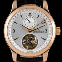 Jaeger-LeCoultre Master Tourbillon Rose gold 42mm Silver