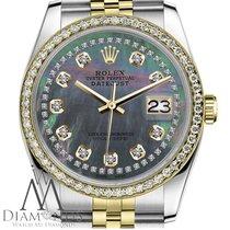 Rolex Lady-Datejust Gold/Stahl 31mm Perlmutt Keine Ziffern