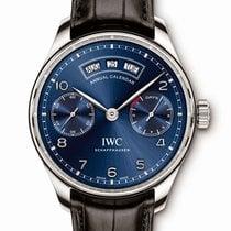 IWC Portugieser Annual Calendar neu 44.2mm Stahl
