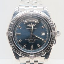Breitling Headwind Day Date Blue