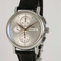IWC Portofino Chronograph Stål 39mm Silver