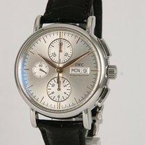 IWC Portofino Chronograph Otel 39mm Argint