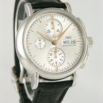 IWC Portofino Chronograph Aço 39mm Prata
