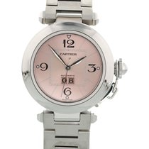 Cartier Pasha Big Date 2324 Pink Dial Automatic