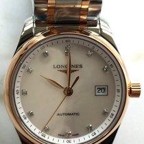 Longines Master Collection L2.257.5.89.7 Longines MASTER Acciaio Oro Madreperla 29mm new