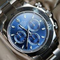 Ρολεξ (Rolex) Daytona white gold blue dial full set