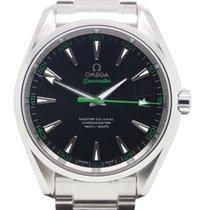 Omega Chronometer 41.5mm Automatic 2017 new Seamaster Aqua Terra Black