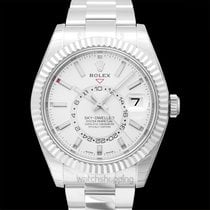 Rolex Sky-Dweller White gold 42.00mm White