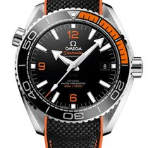 Omega Seamaster Planet Ocean Steel 43.5mm Black Arabic numerals United Kingdom, London
