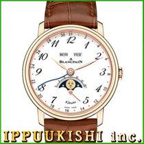 ブランパンル•ブラスス ・新品/未使用・時計 (説明書付き、化粧箱入り)・42 x 44 mm・レッドゴールド
