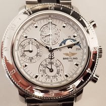 Breitling Chronograph 40mm Automatic 1992 pre-owned White