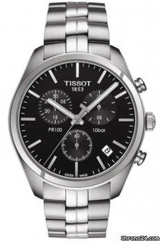 81d52452014 Tissot PR 100 Chronograph Watch T1014171105100 - Compare preços na Chrono24