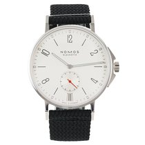 NOMOS Ahoi Datum new Automatic Watch with original box and original papers 551