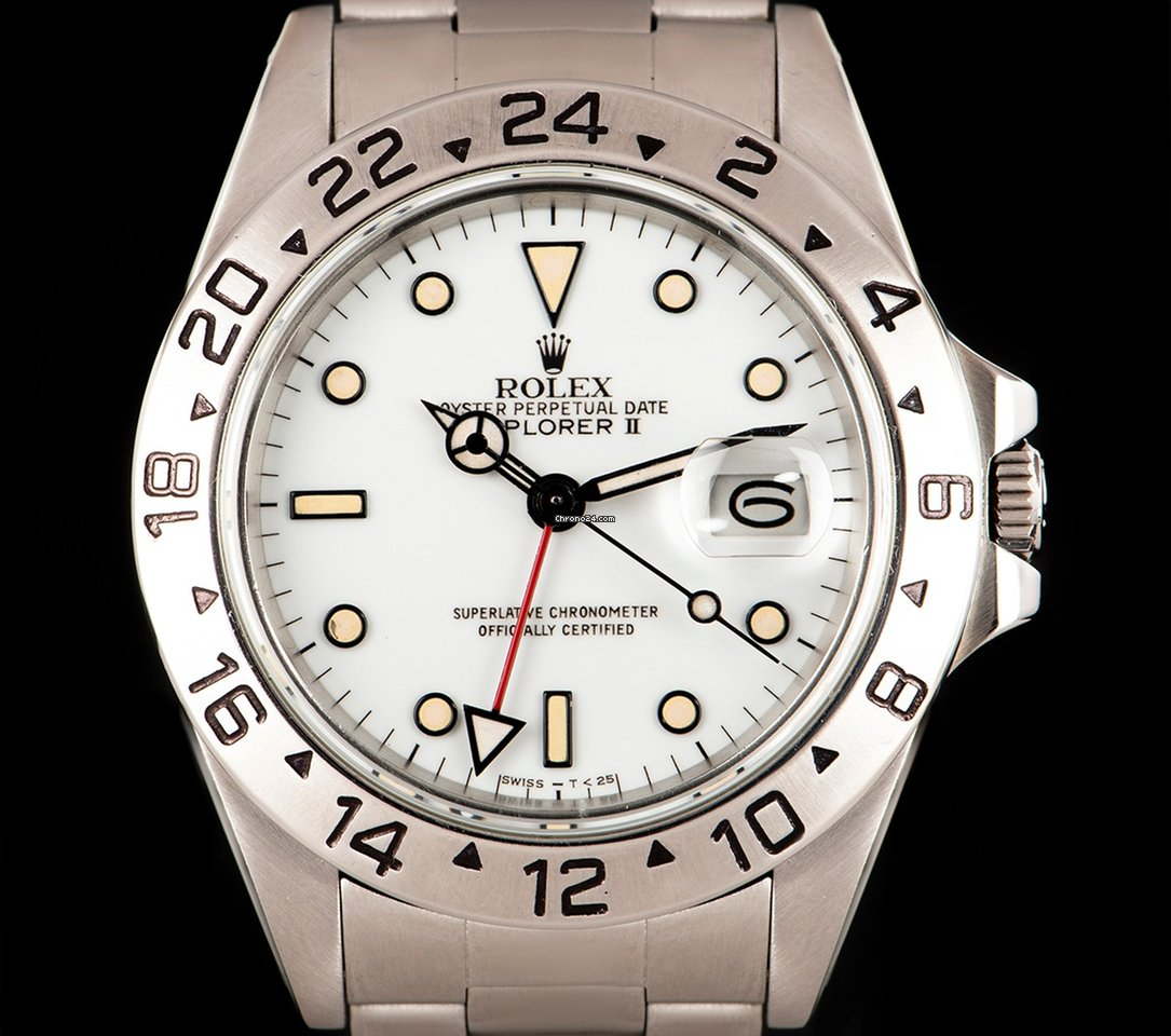 finest selection 48976 ae6b9 Rolex Explorer II 16550