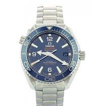 Omega Seamaster Planet Ocean Stahl 39.5mm Blau