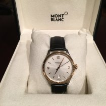 Montblanc Heritage Chronométrie Gold/Steel 38mm Silver Arabic numerals United States of America, Washington