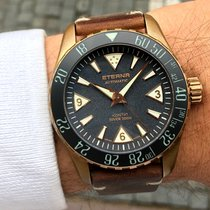 Eterna Bronze Automatic Black 44mm pre-owned Kontiki
