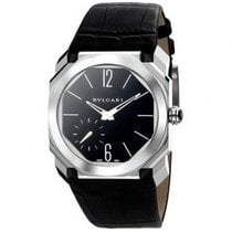 Bulgari Platinum Manual winding Black Arabic numerals 40mm new Octo