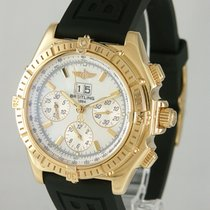 Breitling Crosswind Special Yellow gold 43mm Mother of pearl